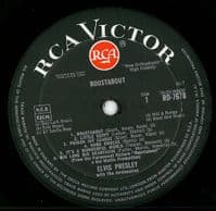 ELVIS PRESLEY Roustabout Vinyl Record LP RCA Victor 1964